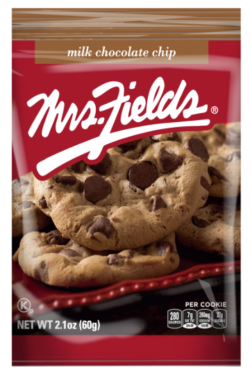 Mrs Field's Milk Chocolate Chip Cookie 2.1oz