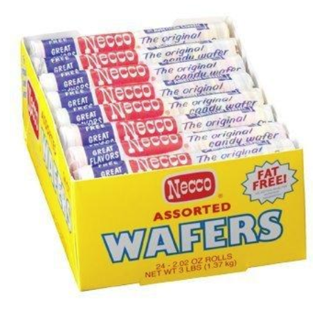 Necco Original Candy Wafer 2.02oz