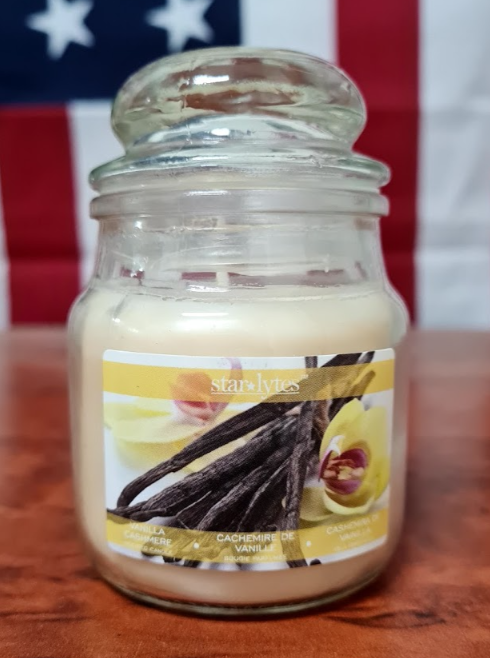 Starlytes Vanilla Bean Scented Candle