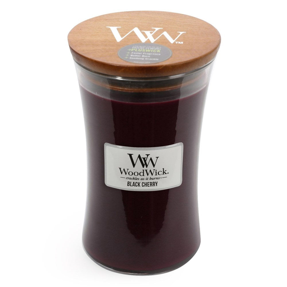 WoodWick Black Cherry Candle Large