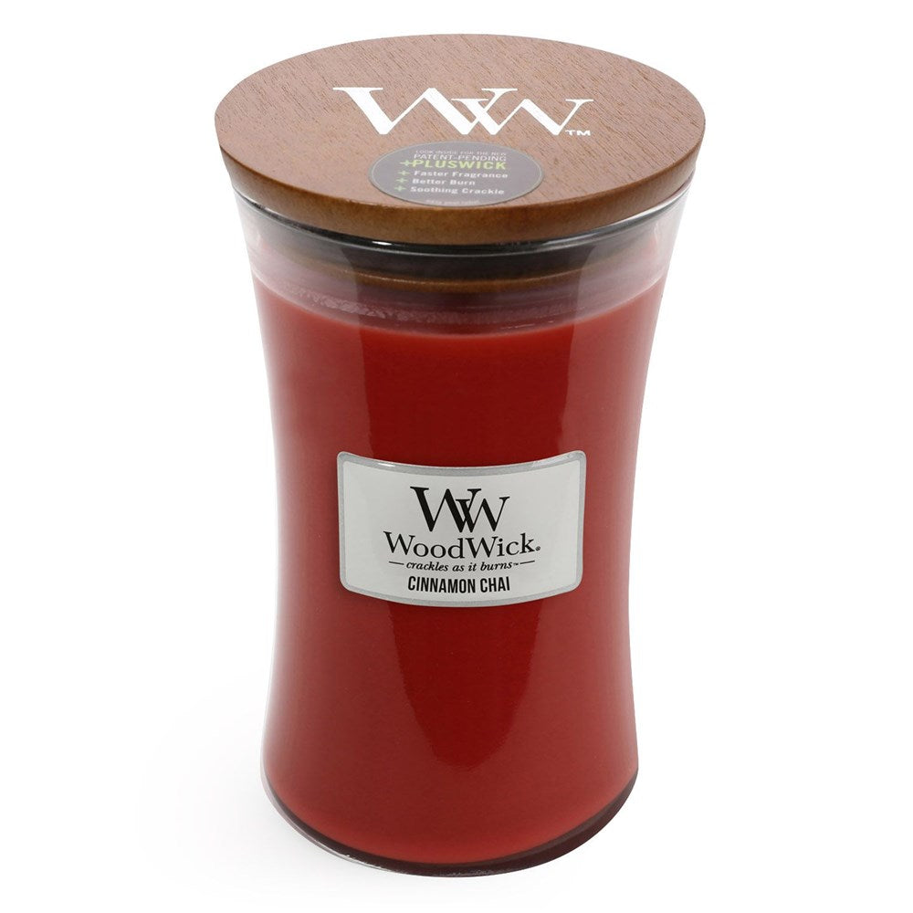 WoodWick Cinnamon Chai Candle Large