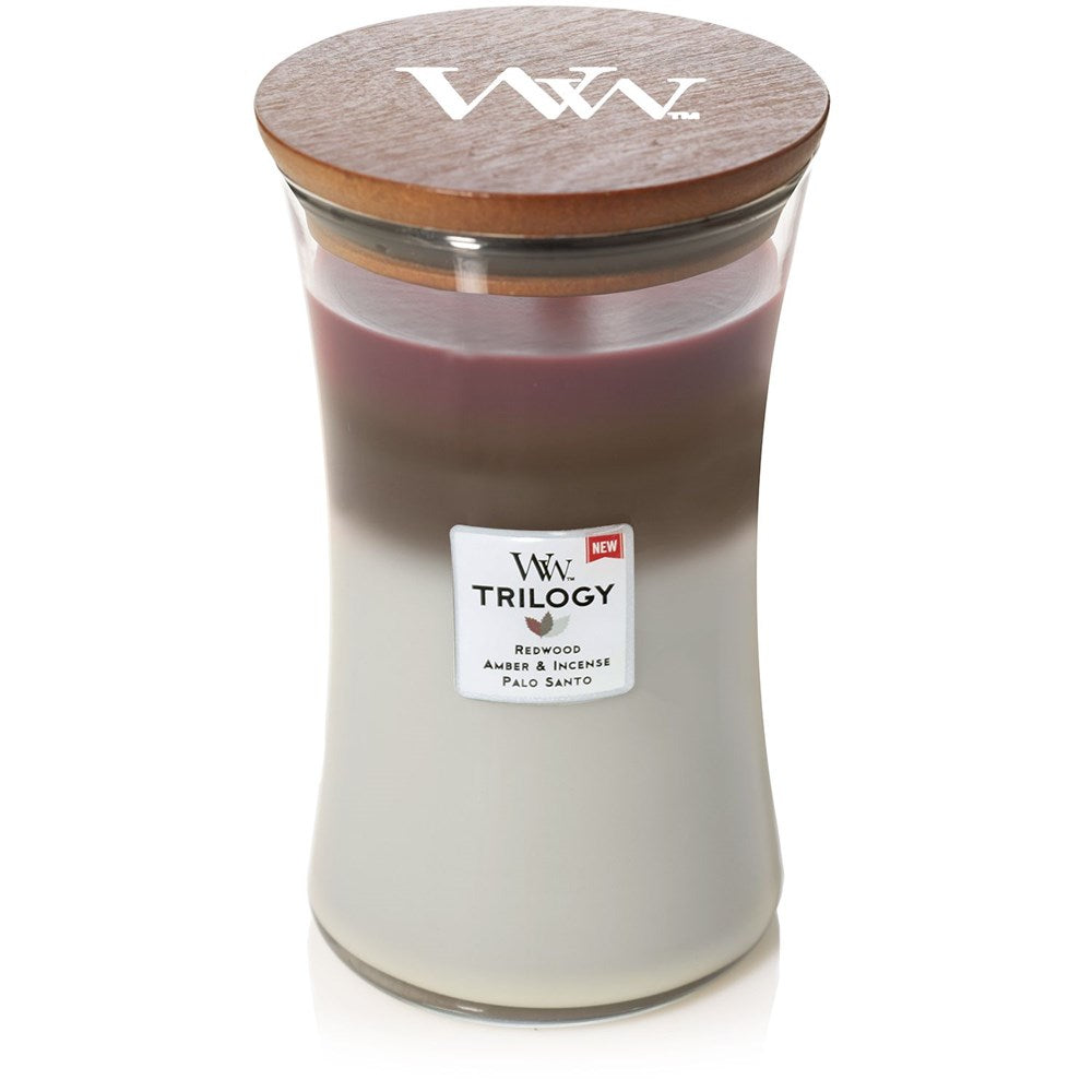 WoodWick Forest Retreat Trilogy Candle Large
