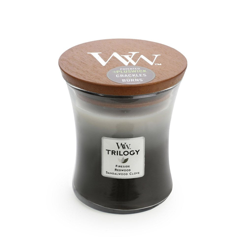 WoodWick Candle Trilogy Medium