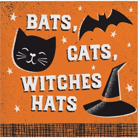 Bats Cats Witches Hats Paper Goods
