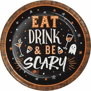 Eat Drink Be Scary Paper Goods