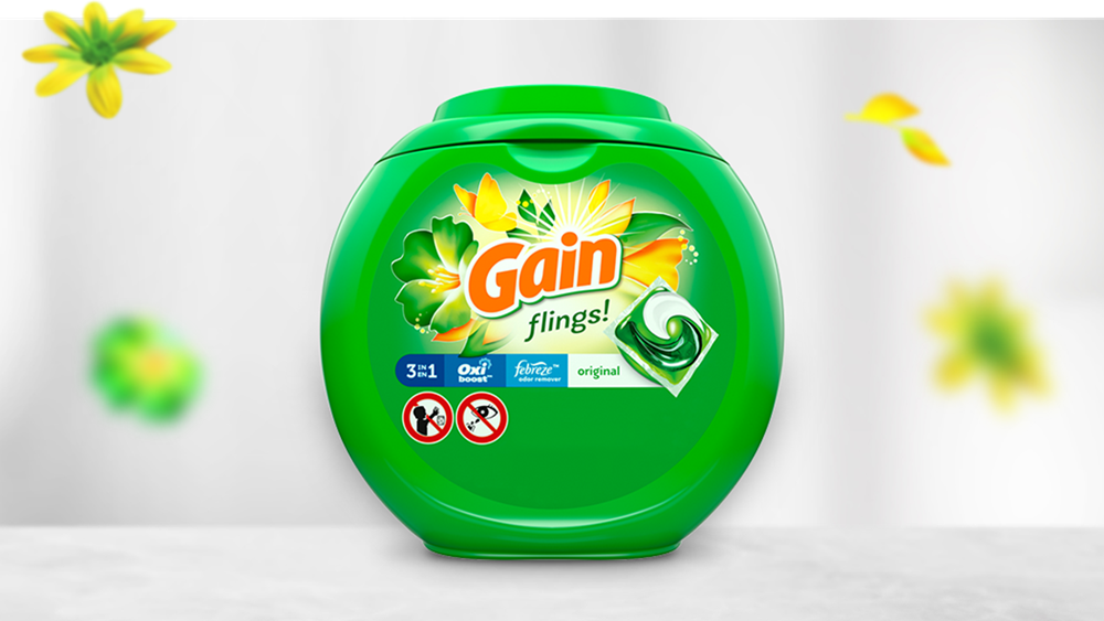 Gain Original Flings Laundry Detergent
