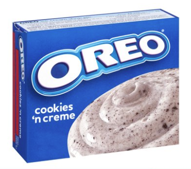 Jell-O Instant Oreo Cookies 'n Creme Pudding Mix 4.2oz