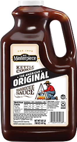 KC Masterpiece BBQ Sauce Gallon