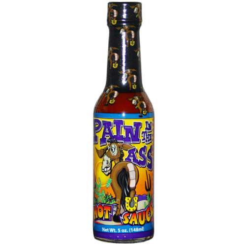 Ass Kickin' Pain in the Ass Habanero Hot Sauce