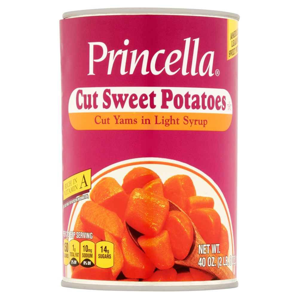 Princella Cut Sweet Potatoes 40oz