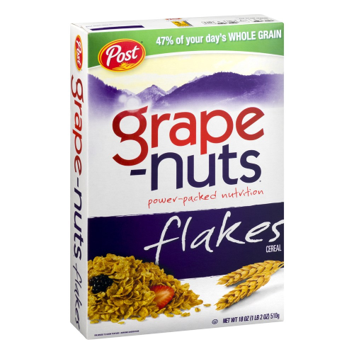 Grape Nuts Flakes 18oz
