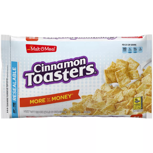 Malt-O-Meal Cinnamon Toasters 22oz