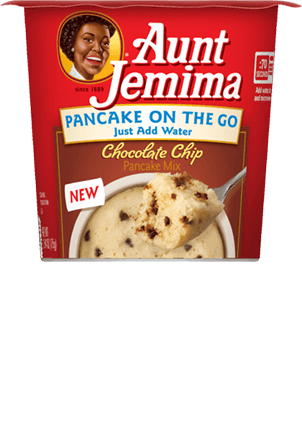 Aunt Jemima Chocolate Chip Pancake On The Go