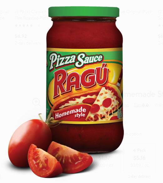 Ragu Pizza Sauce 14oz