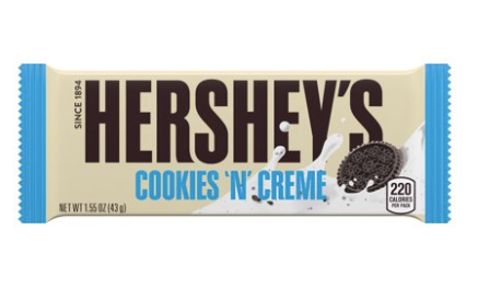 Hershey's Cookies & Creme Bar