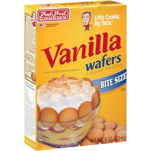 Bud's Best Vanilla Wafers Bite Size 8oz
