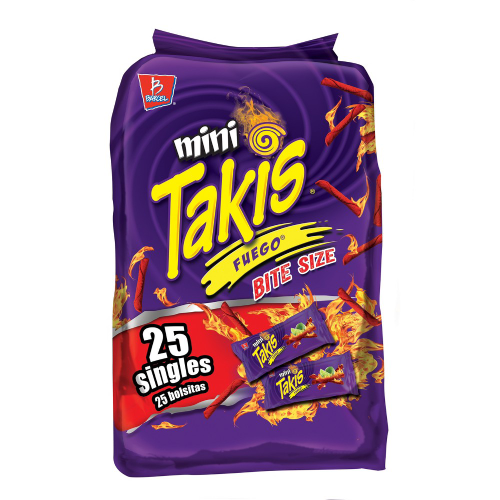 Takis Fuego Hot Chilli Pepper & Lime Tortilla Chips