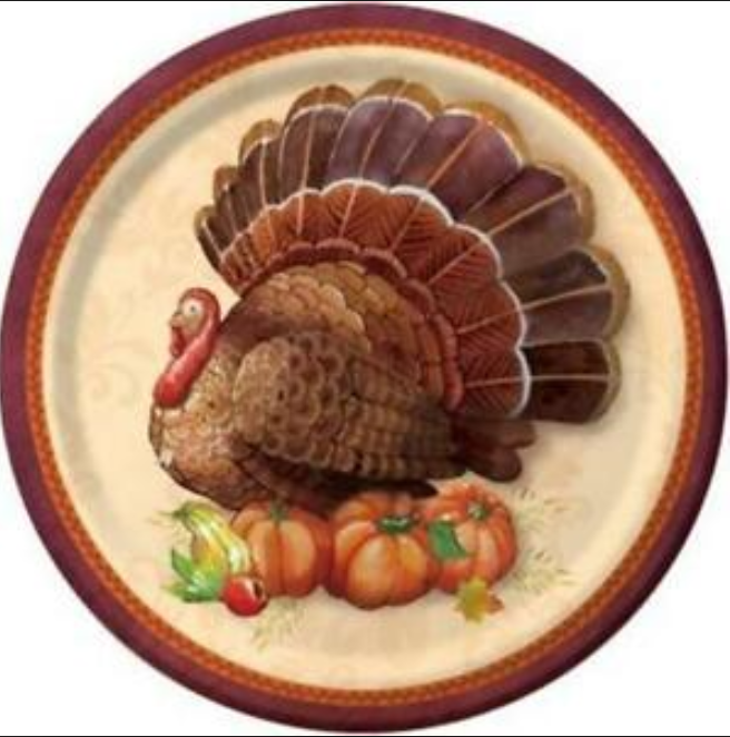 Thanksgiving Elegance Paper Goods