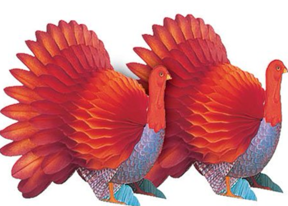 Amscan Thanksgiving Paper Decoration