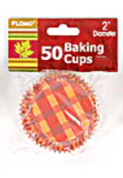 Thanksgiving Baking Cups 50ct