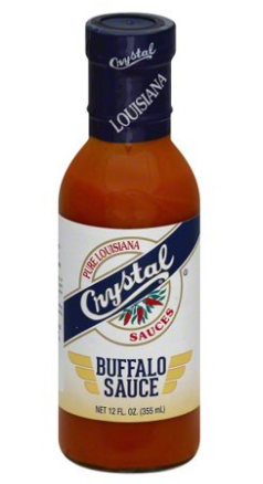 Crystal Wing Sauce 12oz