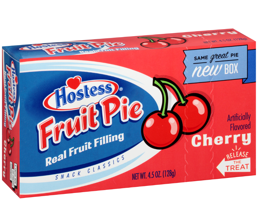 Hostess Cherry Fruit Pie 4.5oz
