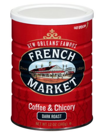 French Market Coffee With Chicory 12oz