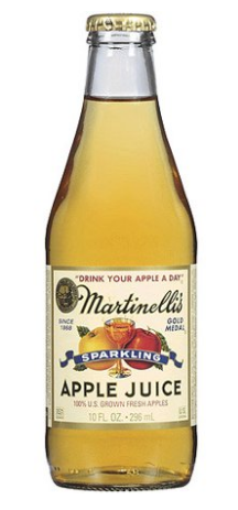 Martinelli's Sparkling Apple Juice 24 Pack