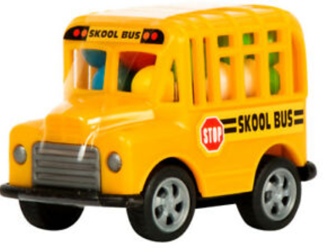 Skool Bus Candy Toy 0.53oz