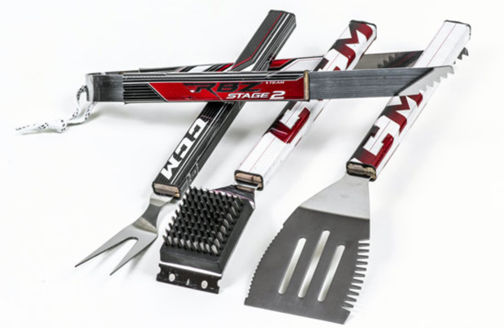Hat Trick NHL Ice Hockey BBQ Tool Set