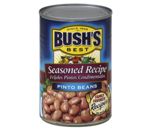 Bush's Seasoned Recipe Pinto Beans
