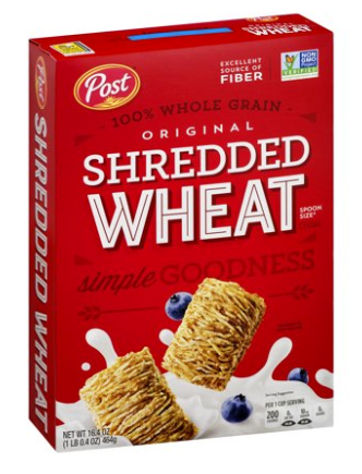 Shredded Wheat Original Spoon Size 16.4oz