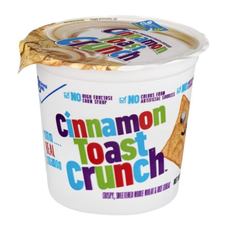 Cinnamon Toast Crunch Cereal Single Serve