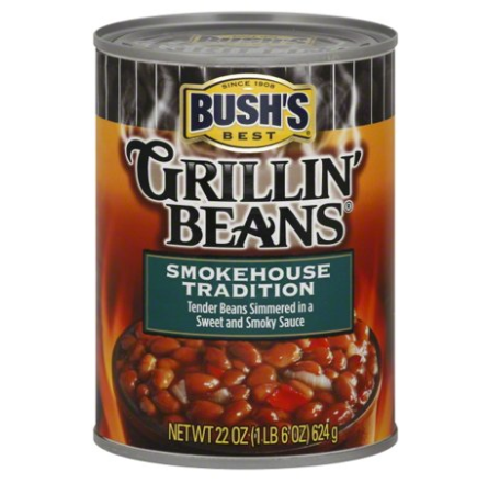 Bush's Smokehouse Tradition Grillin' Beans