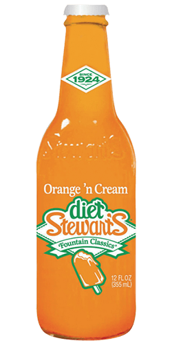 Stewart's Diet Orange Cream Soda