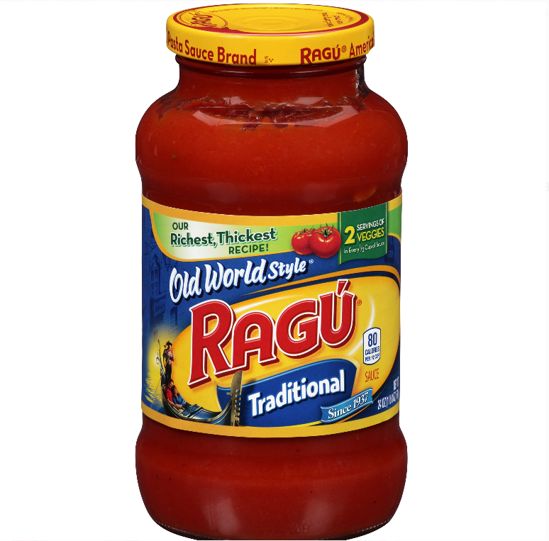 Ragu Old World Style Traditional Sauce 24oz