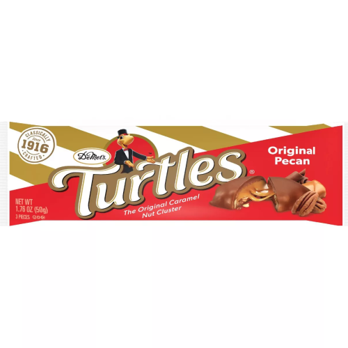 Turtles Candy Bar