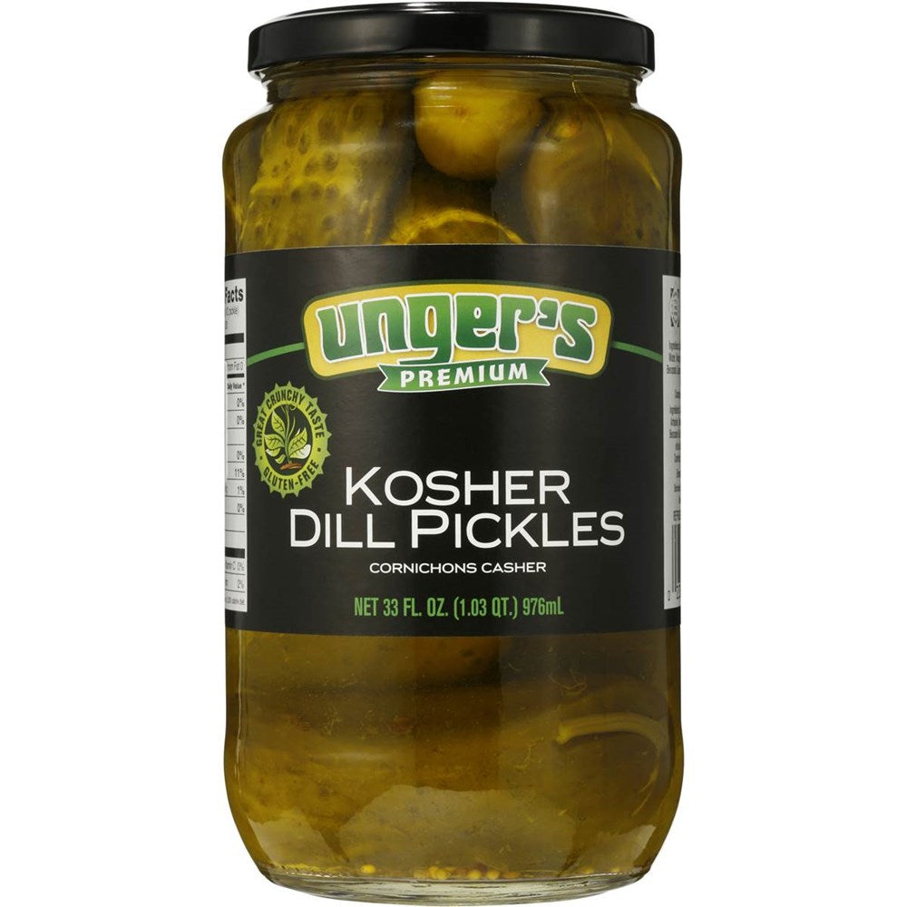 Unger's Kosher Dill Pickles 32oz