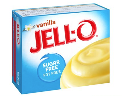 Jell-O Instant Sugar & Fat Free Vanilla Pudding Mix