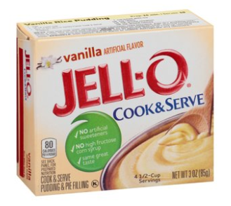 Jell-O Cook & Serve Vanilla Pudding Mix