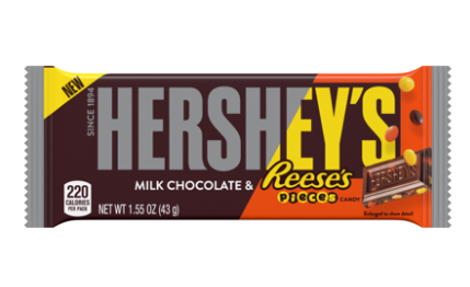 Hershey's Chocolate With Reeses Pieces