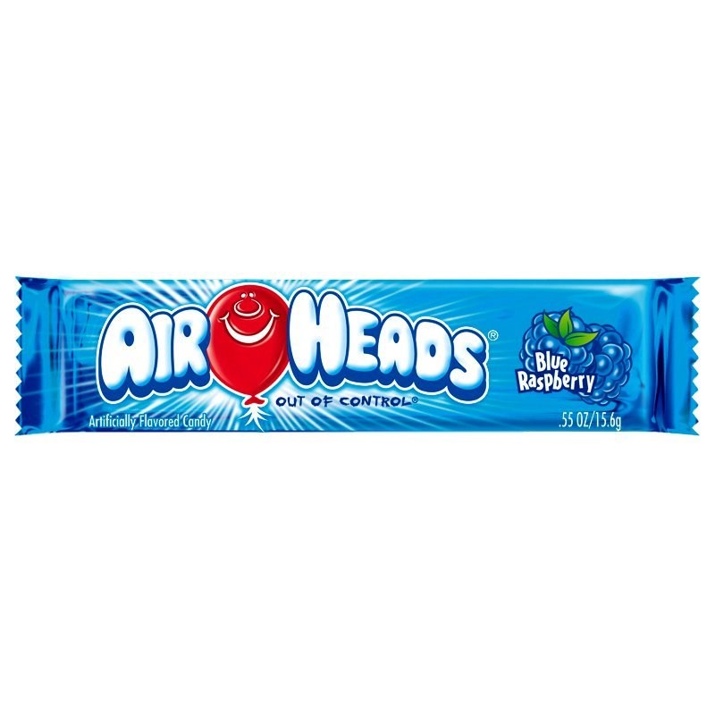 Airheads Blue Raspberry Single Bar 0.55oz