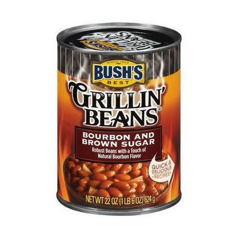 Bush's Bourbon and Brown Sugar Grillin' Beans
