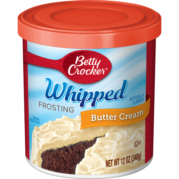 Betty Crocker Whipped Butter Cream Frosting