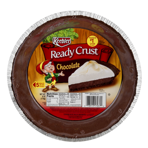 Keebler Ready Crust Chocolate Pie Crust 6oz (9 inch)