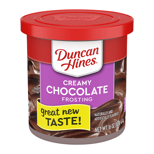 Duncan Hines Creamy Chocolate Fudge Frosting 16oz