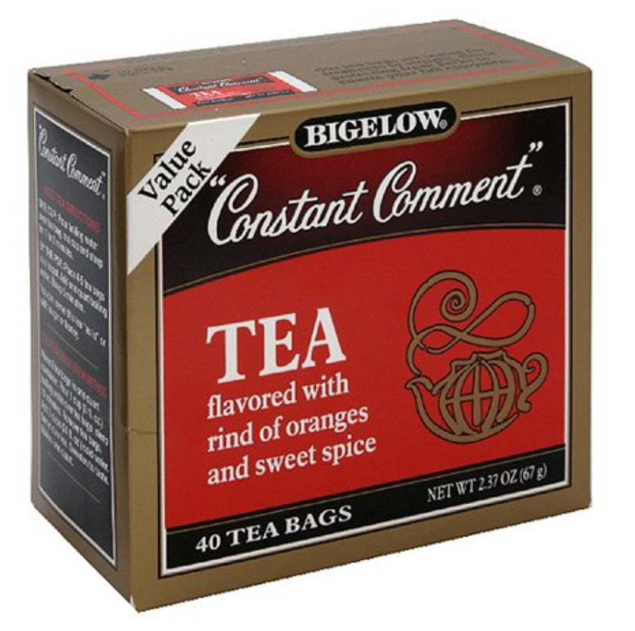 Bigelow Constant Comment Black Tea 40ct