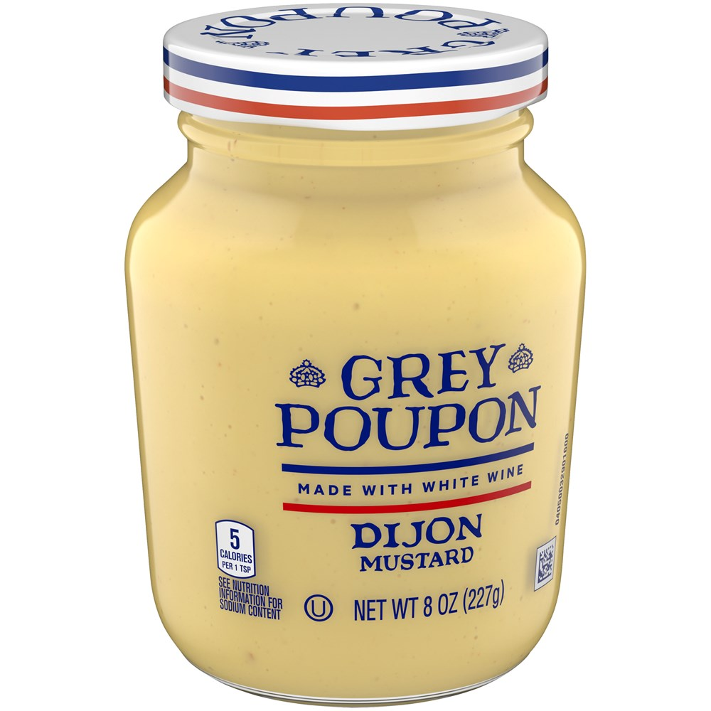 Grey Poupon Dijon Mustard Jar 8oz