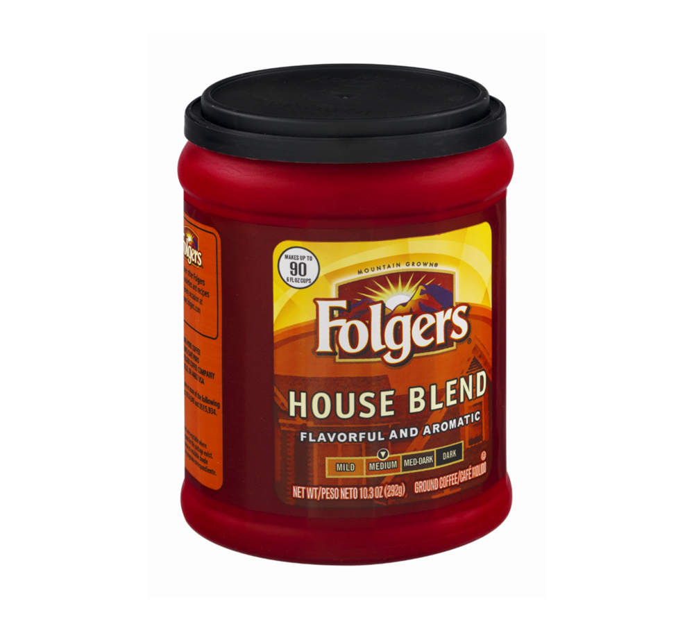 Folgers Medium House Blend Ground Coffee