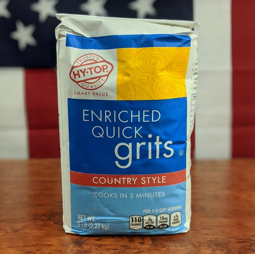 Hy-Top Enriched Quick Grits 5lb